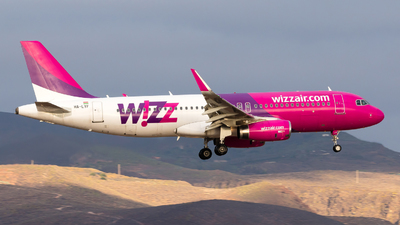HA-LYF - Airbus A320-232 - Wizz Air