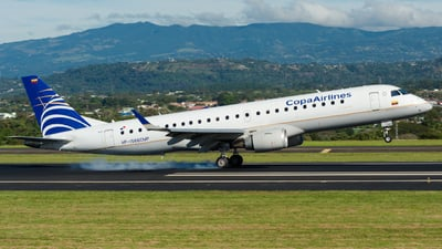 HP-1566CMP - Embraer 190-100IGW - Copa Airlines Colombia