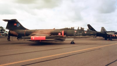 65-5911 - Lockheed TF-104G Starfighter - Turkey - Air Force