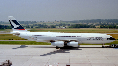 VR-HMR - Airbus A340-211 - Cathay Pacific Airways
