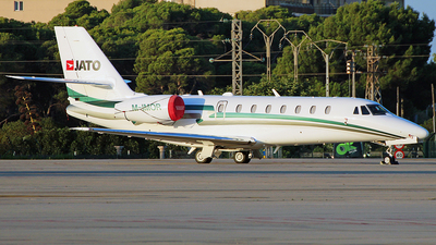 M-IMOR - Cessna 680 Citation Sovereign - Private