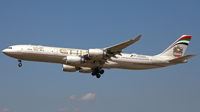 A6-EHC - Airbus A340-541 - Etihad Airways