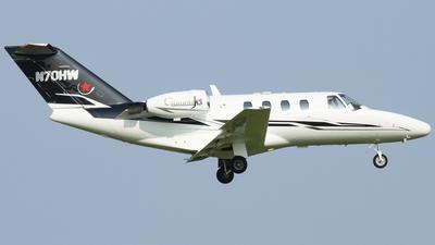 N70HW - Cessna 525 Citationjet CJ1 - Private