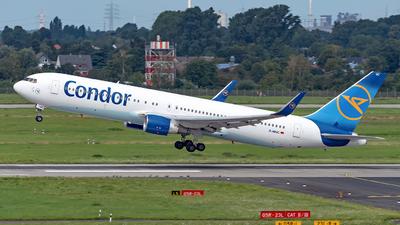 A picture of DABUC - Boeing 767330(ER) - Condor - © Sebastian Thiel