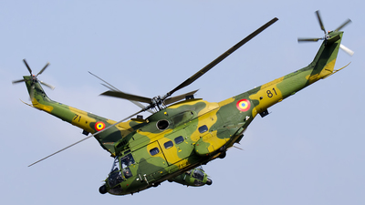 81 - IAR-330M Puma - Romania - Air Force