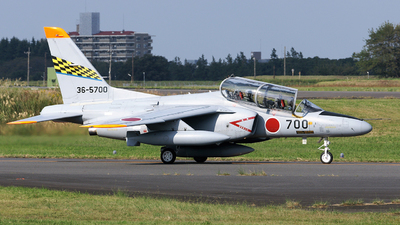 36-5700 - Kawasaki T-4 - Japan - Air Self Defence Force (JASDF)
