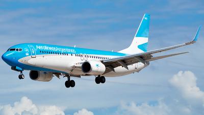 LV-FWS - Boeing 737-8LP - Aerolíneas Argentinas