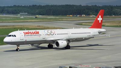 HB-IOC - Airbus A321-111 - Swissair