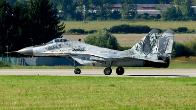 0921 - Mikoyan-Gurevich MiG-29AS Fulcrum A - Slovakia - Air Force