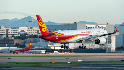 A picture of BLGH - Airbus A350941 - Hong Kong Airlines - © leohuang