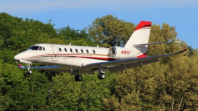 N15TF - Cessna 680 Citation Sovereign Plus - Private