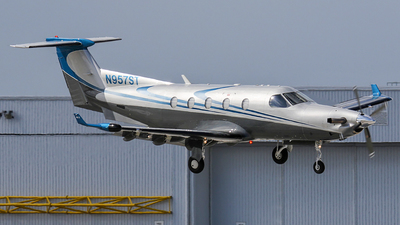 N957ST - Pilatus PC-12/45 - Private
