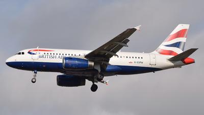 G-EUPW - Airbus A319-131 - British Airways