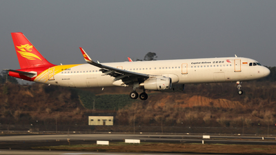 B-8542 - Airbus A321-231 - Capital Airlines