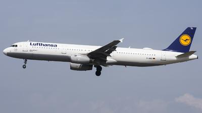 D-AIRS - Airbus A321-131 - Lufthansa