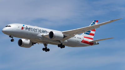 A picture of N812AA - Boeing 7878 Dreamliner - American Airlines - © Haocheng Fang