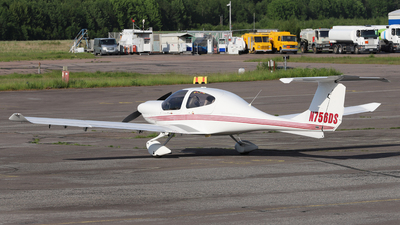 N756DS - Diamond DA-40 Diamond Star - Private