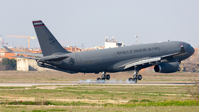 MRTT037 - Airbus A330-243(MRTT) - Singapore - Air Force