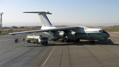 7T-WIG - Ilyushin IL-76 - Algeria - Air Force
