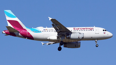 A picture of DAGWB - Airbus A319132 - Eurowings - © Jan Eisenkolb