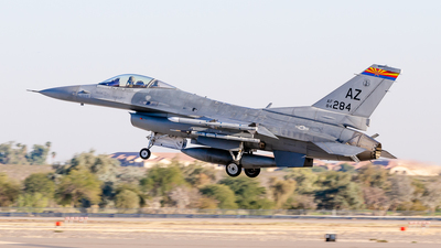 84-1284 - General Dynamics F-16C Fighting Falcon - United States - US Air Force (USAF)