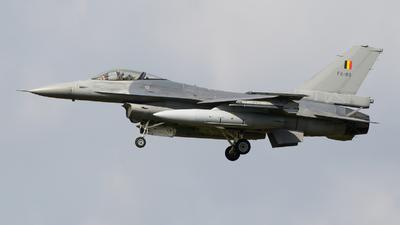 FA-89 - General Dynamics F-16AM Fighting Falcon - Belgium - Air Force