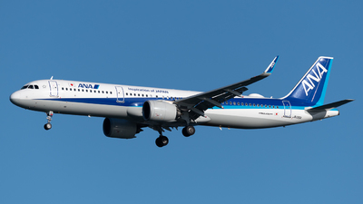 A picture of JA135A - Airbus A321272N - All Nippon Airways - © Yoshio Yamagishi