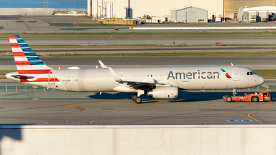 A picture of N104NN - Airbus A321231 - American Airlines - © global_flyer1