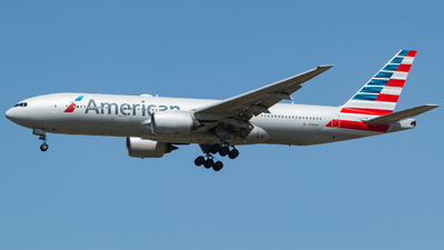 A picture of N760AN - Boeing 777223(ER) - American Airlines - © MINJUNKIM