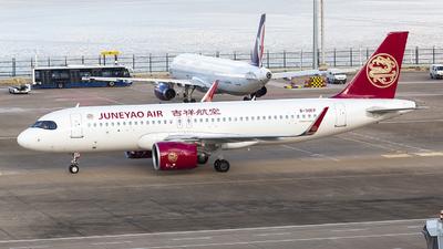 A picture of B30EP - Airbus A320271N - Juneyao Air - © Li Youyang