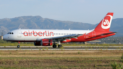 D-ABZA - Airbus A320-216 - Air Berlin