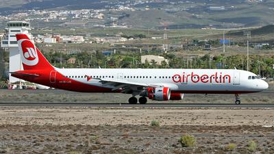 OE-LCE - Airbus A321-211 - Air Berlin (Niki)