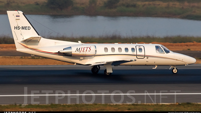 HS-MED - Cessna 550B Citation Bravo - MJets