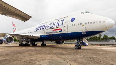 G-CIVK - Boeing 747-436 - British Airways