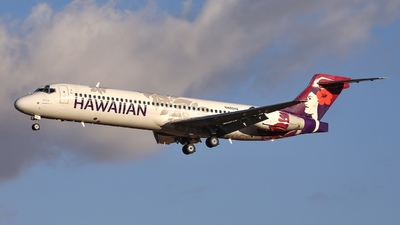 A picture of N486HA - Boeing 71722A - Hawaiian Airlines - © Emerald City Aviation