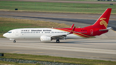 A picture of B5670 - Boeing 73787L - Shenzhen Airlines - © NicoNicoNi
