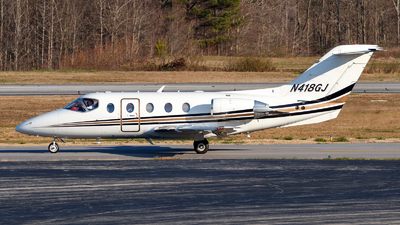 N418GJ - Raytheon Hawker 400XP - Georgia Jet