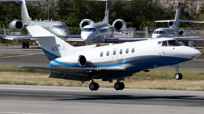 N33LK - Hawker Beechcraft 750 - Private