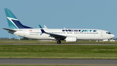 C-FWVJ - Boeing 737-8CT - WestJet Airlines