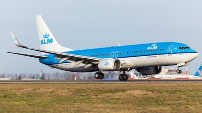 A picture of PHBXH - Boeing 7378K2 - KLM - © William Verguet