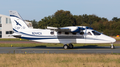 N244CA - Tecnam P2012 Traveller - Cape Air