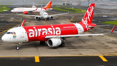 A picture of VTATB - Airbus A320216 - AirAsia - © Aneesh Bapaye