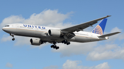 N788UA - Boeing 777-222(ER) - United Airlines