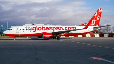G-DLCH - Boeing 737-8Q8 - Flyglobespan