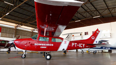 PT-ICY - Cessna 210L Centurion II - Brazil - Military Firefighters