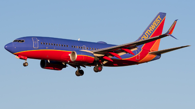 A picture of N7745A - Boeing 7377BD - Southwest Airlines - © Positive Rate Photography