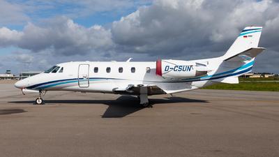 D-CSUN - Cessna 560XL Citation XLS+ - Air Hamburg