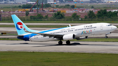A picture of B1328 - Boeing 7378LW - Hebei Airlines - © ZUCKGYQ