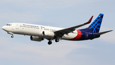 PK-CRI - Boeing 737-86N - Sriwijaya Air