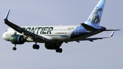 N341FR - Airbus A320-251N - Frontier Airlines